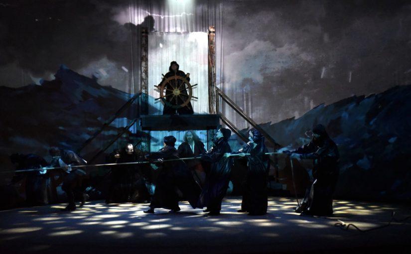 La Tempête, Acte I, scène 1 / photo © Emile Zeizig